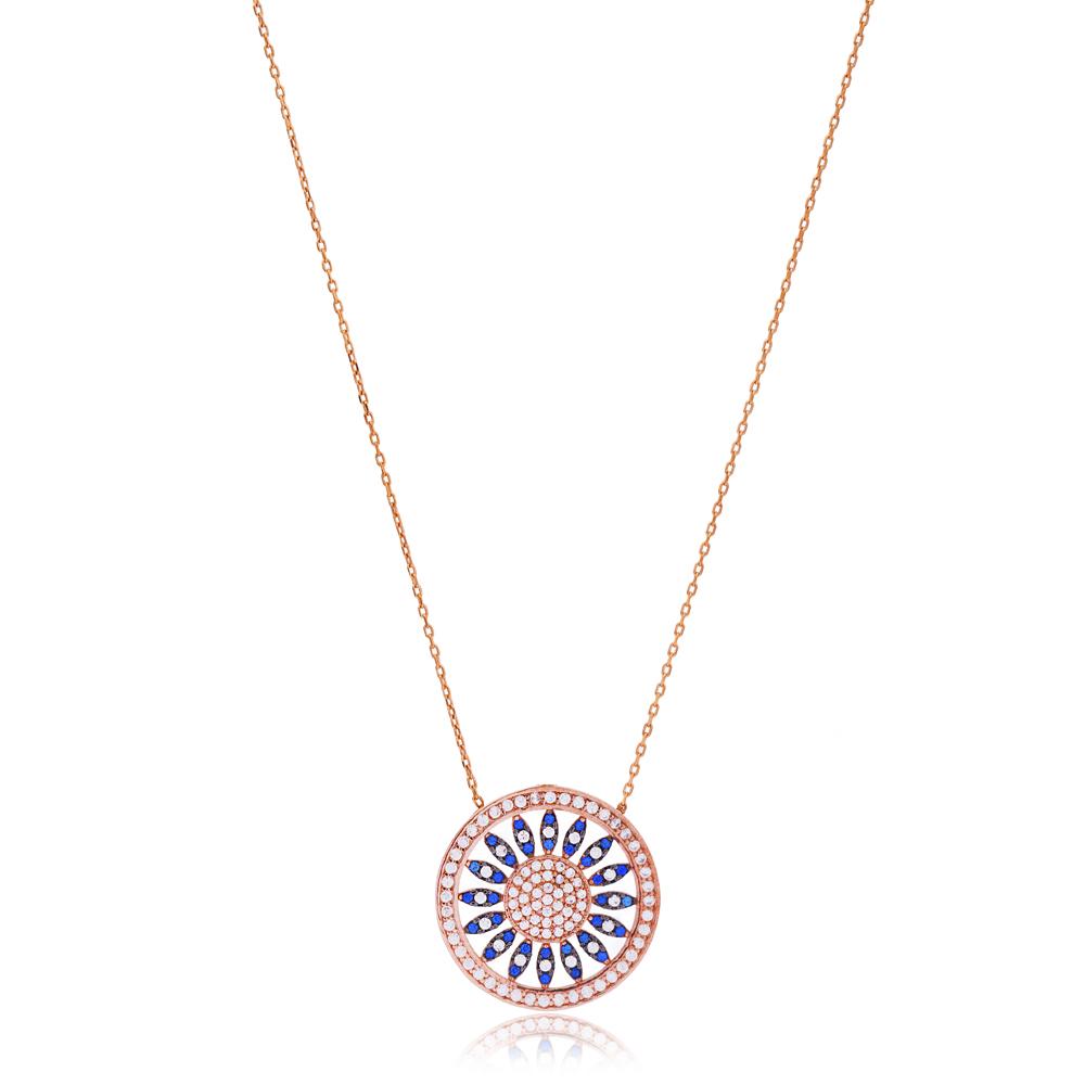 Silver Pattern Pendant Turkish Wholesale 925 Sterling Silver Jewelry