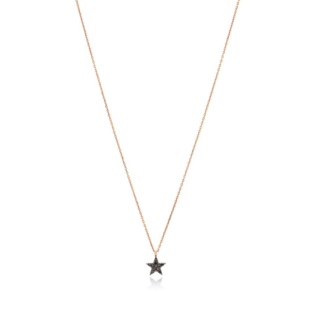 Elegant Star Pendant Turkish Wholesale Sterling Silver Jewelry