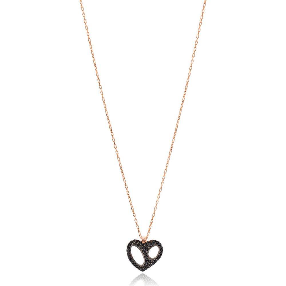 Heart Design Pendant Wholesale Handmade 925 Sterling Silver Jewelry