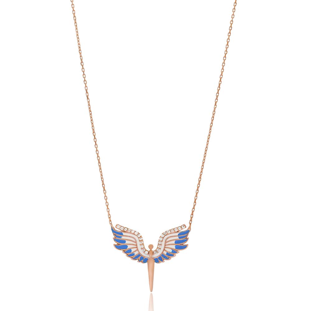Angel Charm Pendant Wholesale Handmade Turkish 925 Silver Sterling Jewelry