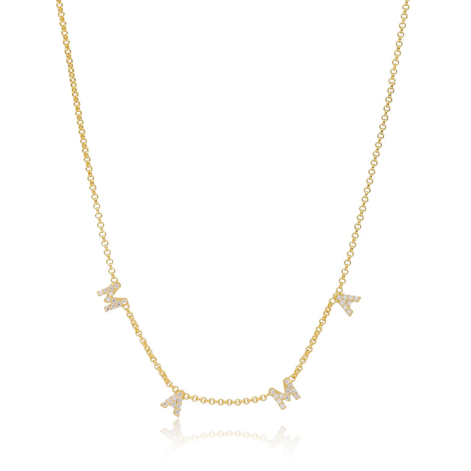 MAMA Design Silver Necklace