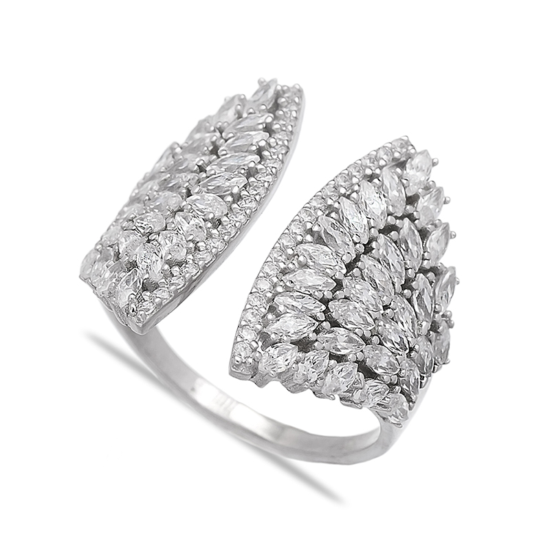Wing Design Adjustable Dainty Wholesale Handcrafted 925 Sterling Silver Turkish Women Ring