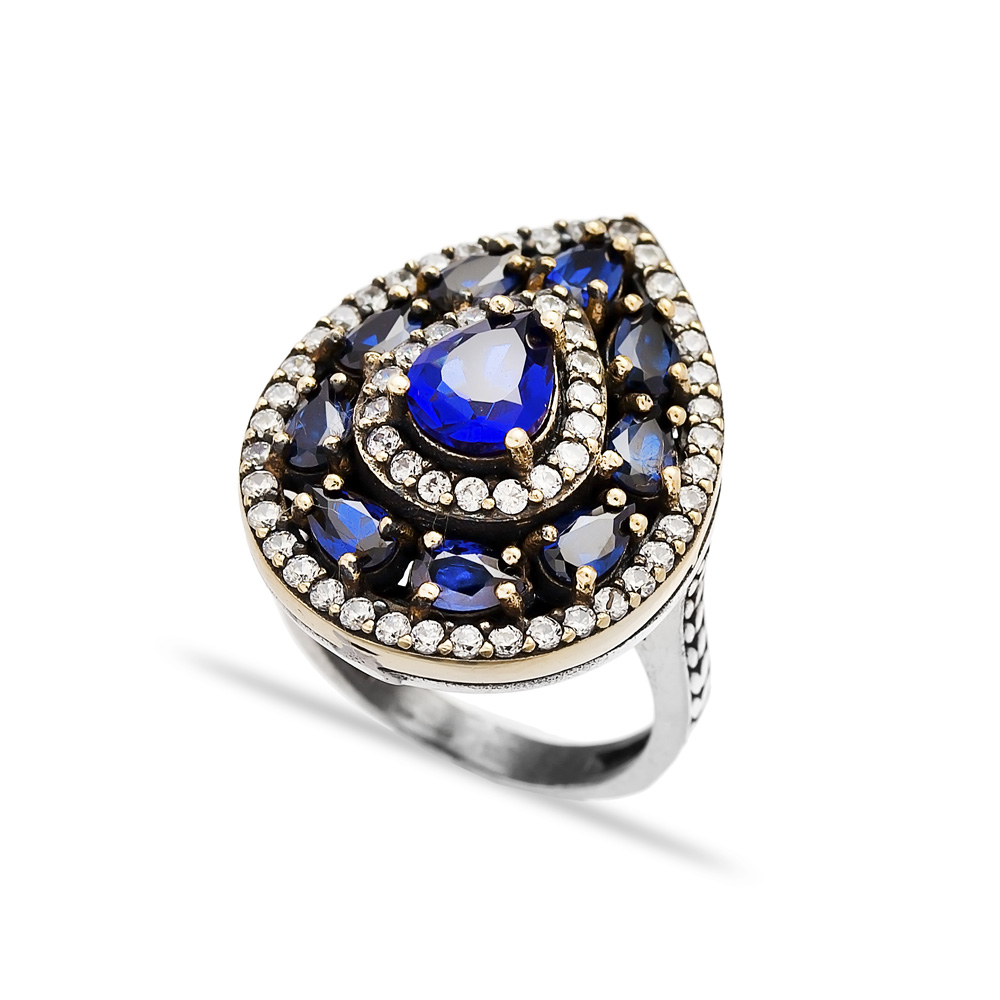 Ottoman Design Wholesale Handcrafted Authentic 925 Silver Sterling Ring