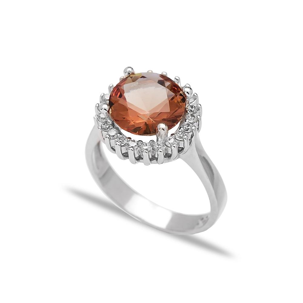 Elegant Ring Zultanite Stone  Turkish Wholesale Handmade 925 Sterling Silver Jewelry