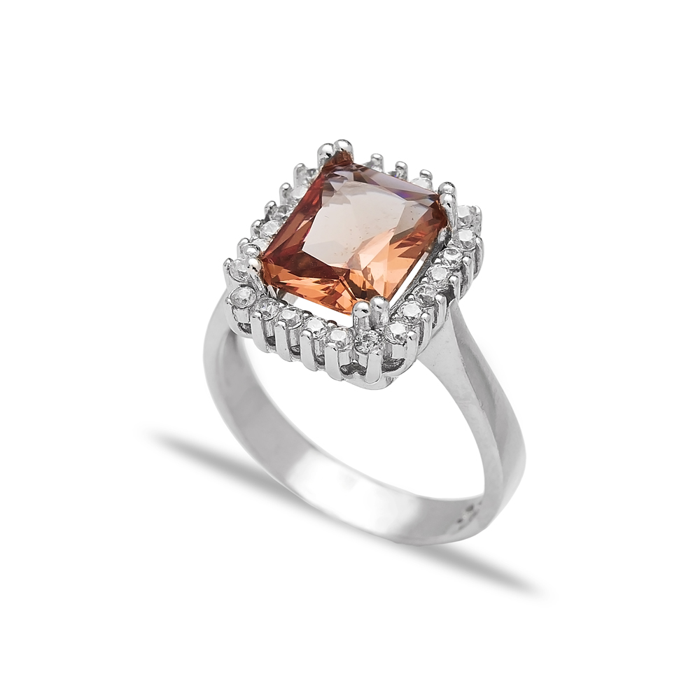 Zultanite Stone Elegant Ring Turkish Wholesale Handmade 925 Sterling Silver Jewelry