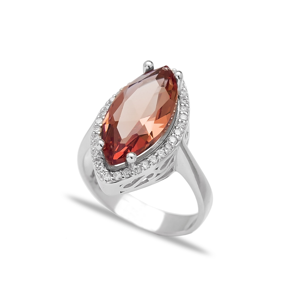 Oval Shape Zultanite Stone Elegant Ring Turkish Wholesale Handmade 925 Sterling Silver Jewelry