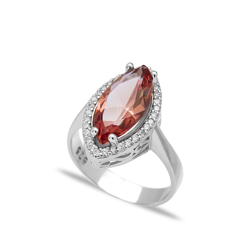 Zultanite Stone Elegant Ring Turkish Wholesale Handmade 925 Sterling Silver Jewelry