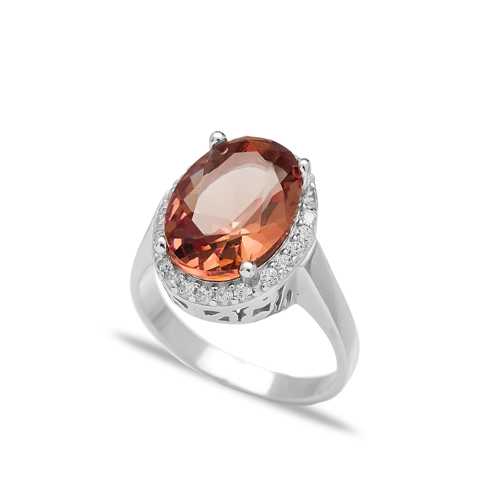 New Zultanite Stone Elegant Ring Turkish Wholesale Handmade 925 Sterling Silver Jewelry