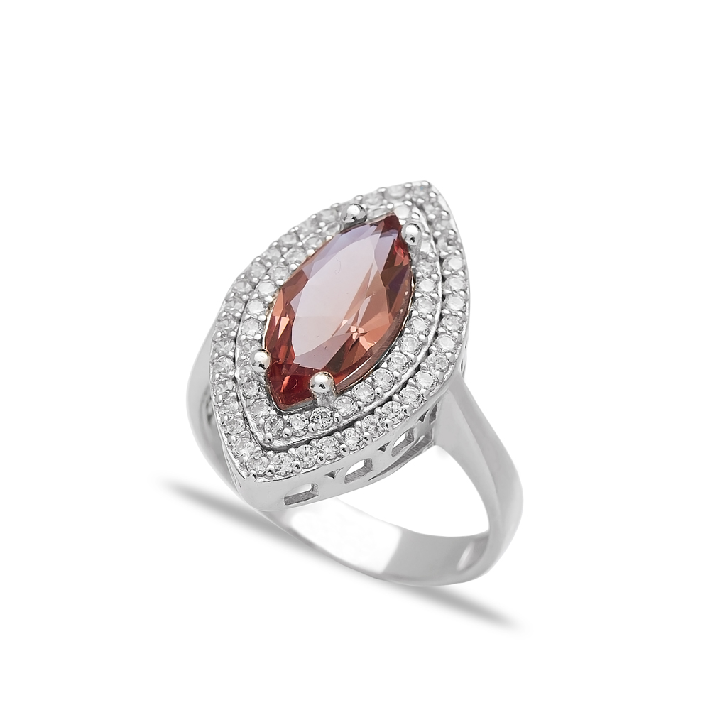 Zultanite Stone Oval Shape Ring Turkish Wholesale Handmade 925 Sterling Silver Jewelry