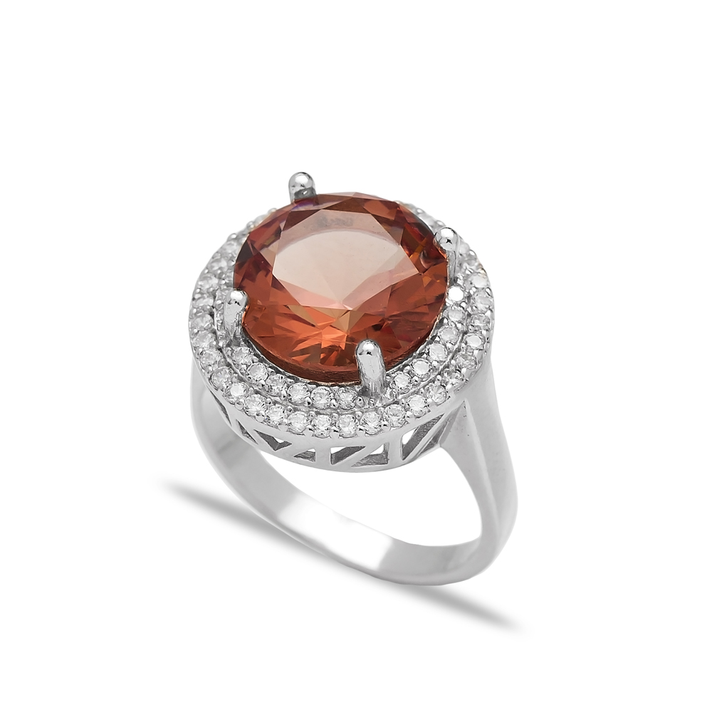 Fashion Zultanite Stone Elegant Ring Turkish Wholesale Handmade 925 Sterling Silver Jewelry