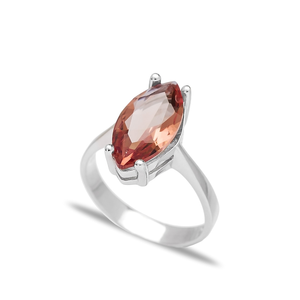 Zultanite Stone Oval Shape Ring Turkish Wholesale Handmade 925 Sterling Silver Jewelry