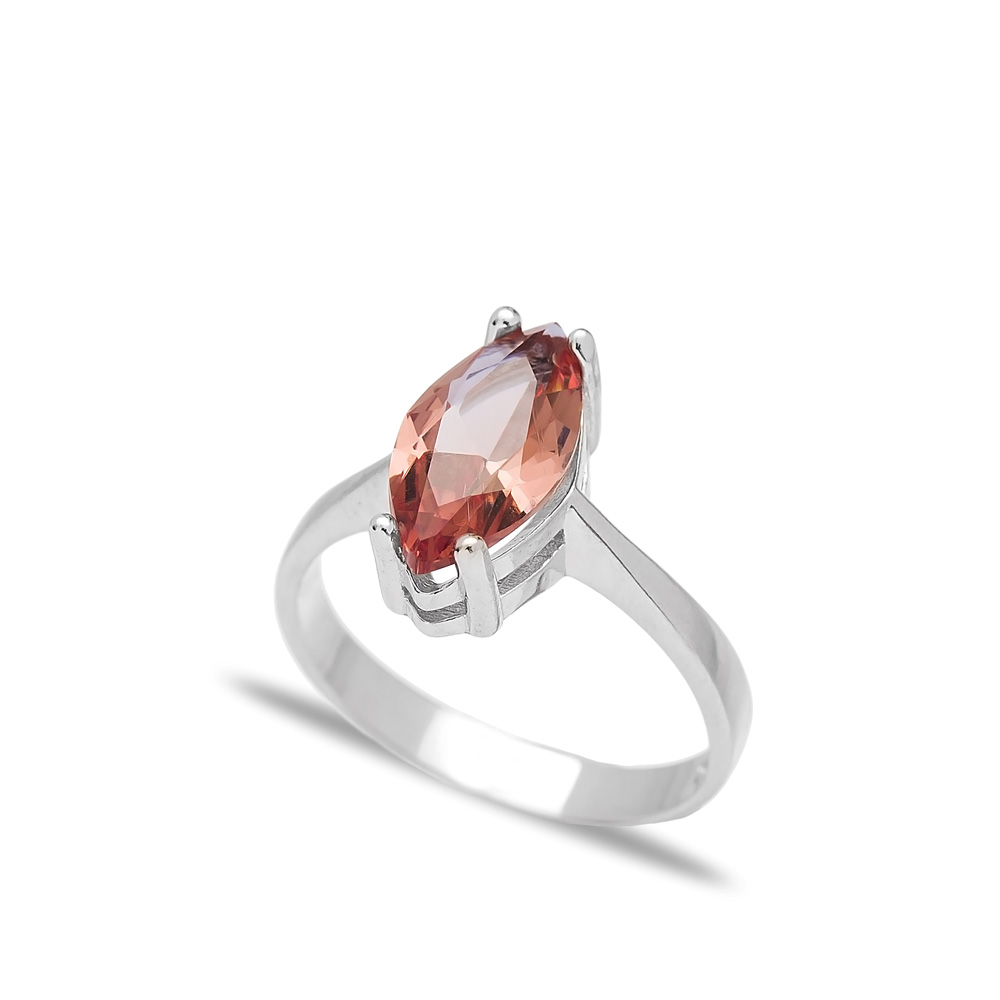 Elegant Zultanite Stone Oval Shape Ring Turkish Wholesale Handmade 925 Sterling Silver Jewelry