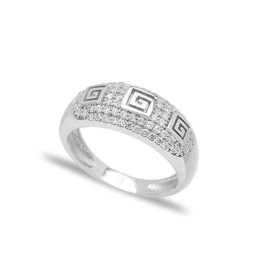 New Fashion Design Ring Wholesale Handcrafted 925 Sterling Silver Jewelry