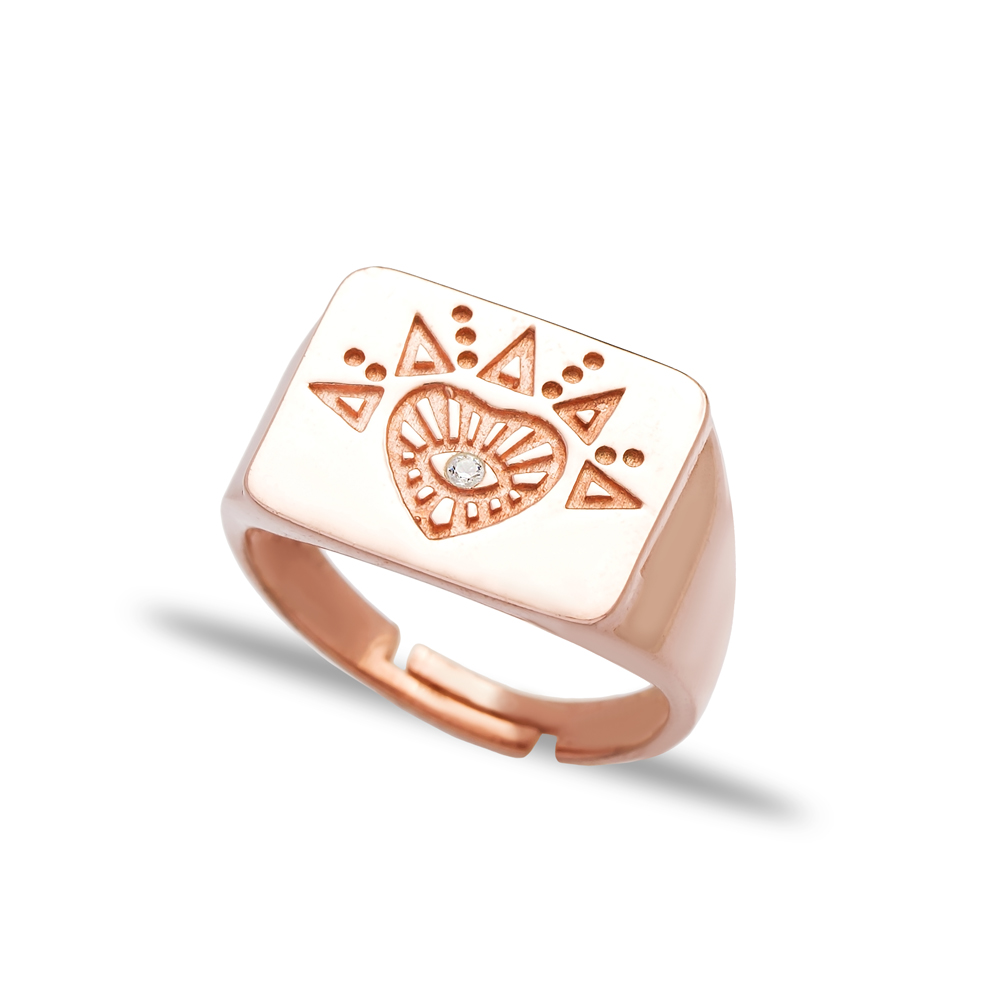 Hearth Design Elegant Adjustable Ring Turkish Wholesale 925 Silver Sterling Jewelry