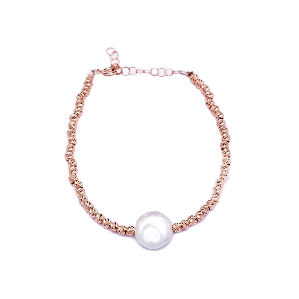 Beaded Design Wholesale Handmade Turkish Etermity Silver Bracelet
