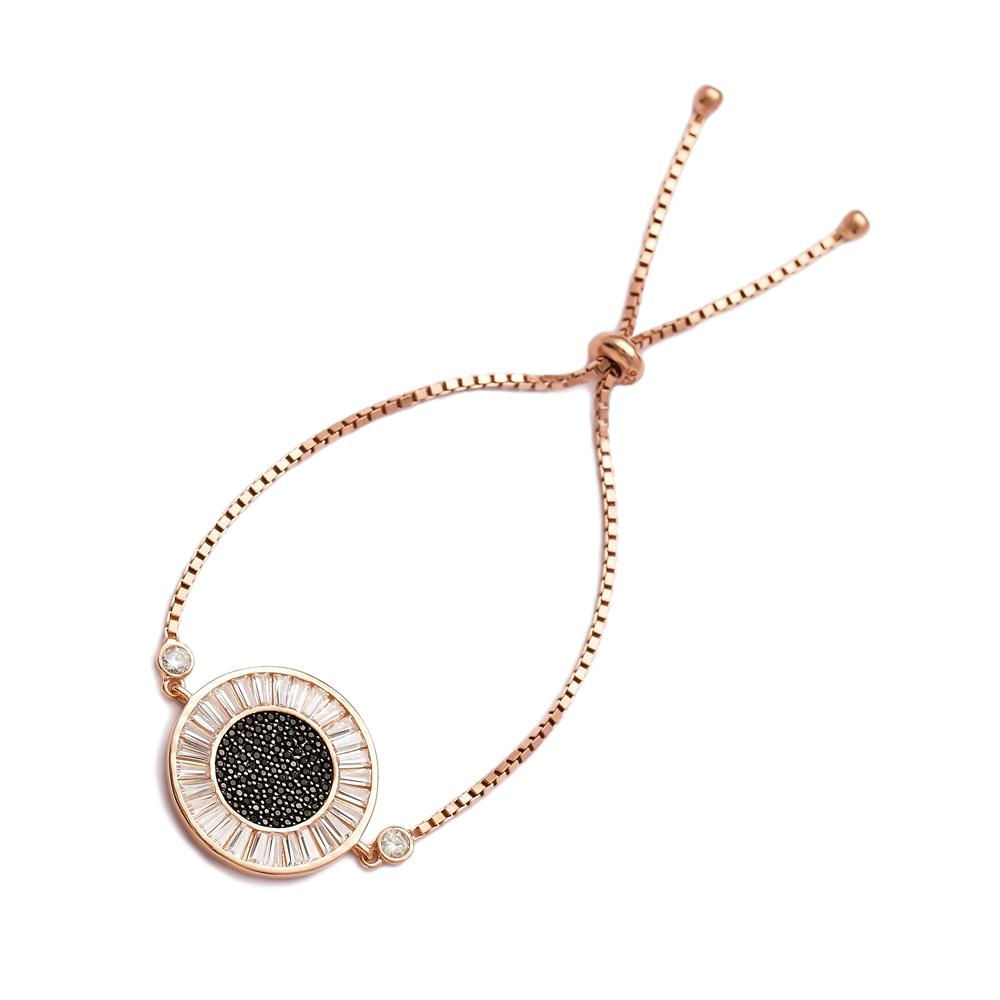 Tennis-Bracelet, Round Silver Sterling Bracelet Wholesale Handcraft Jewelry