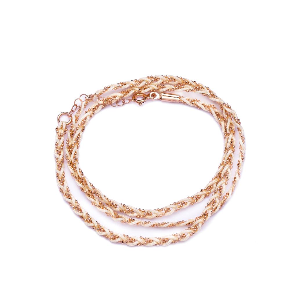Bracelet and Necklace Design Turkish Wholesale  Handmade Sterling Silver Knitting Bracelet
