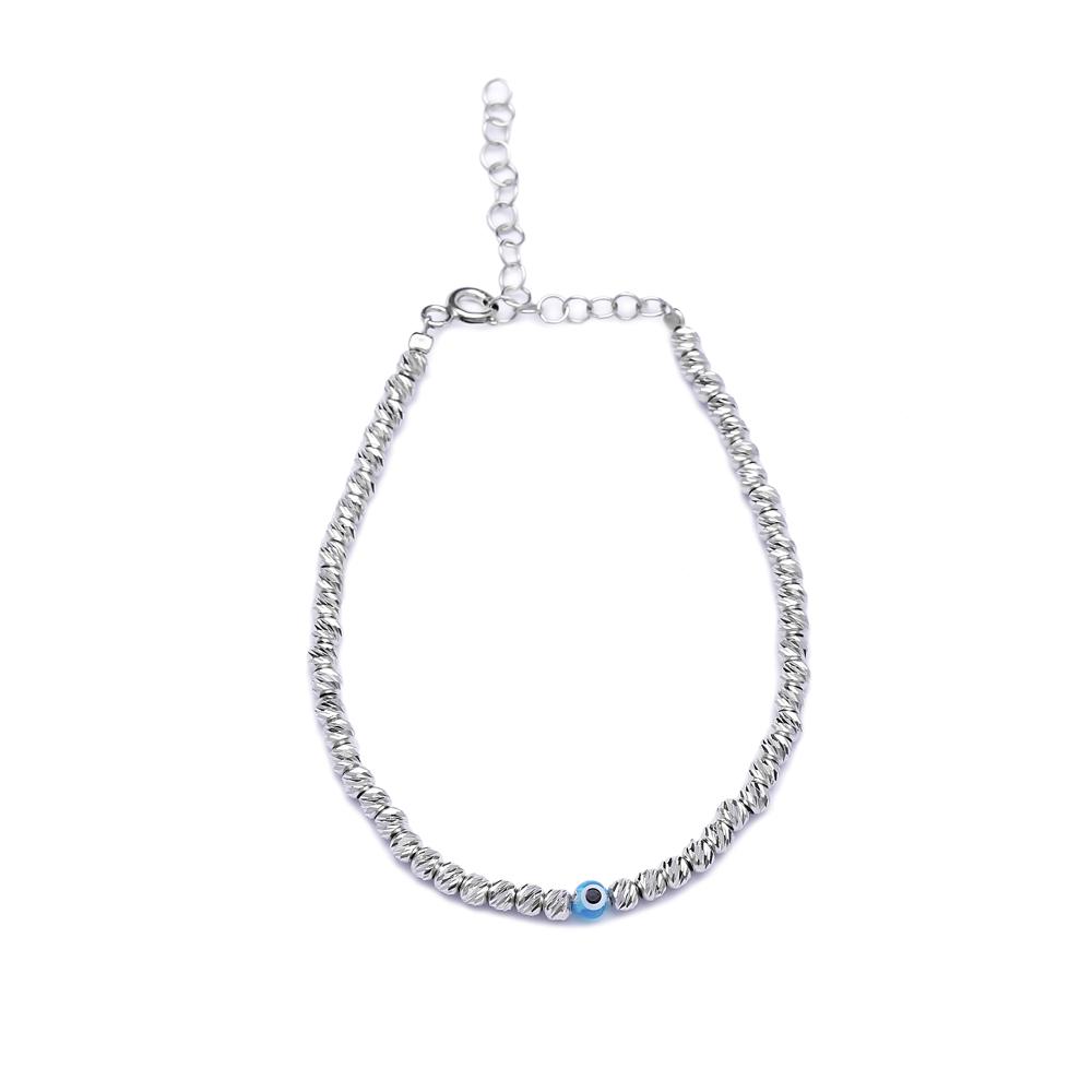 Evi Eye Wholesale Handmade Turkish Etermity Silver Bracelet