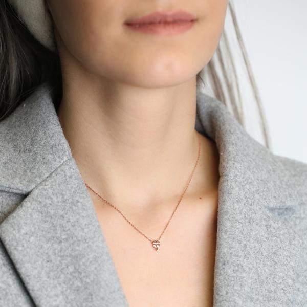 Minimalist Design Clover Pendant Turkish Wholesale 925 Sterling Silver Jewelry