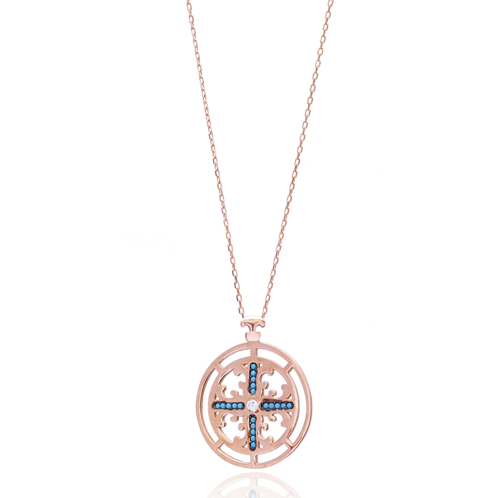 Silver Cross Pendant Turkish Wholesale 925 Sterling Silver