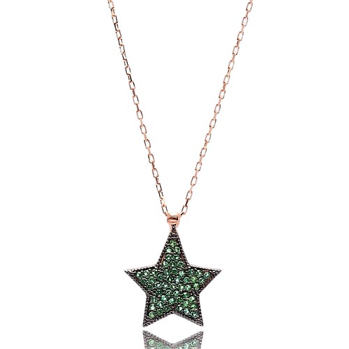 Star Shape Turkish Wholesale Handmade  925k Sterling Silver  Pendant
