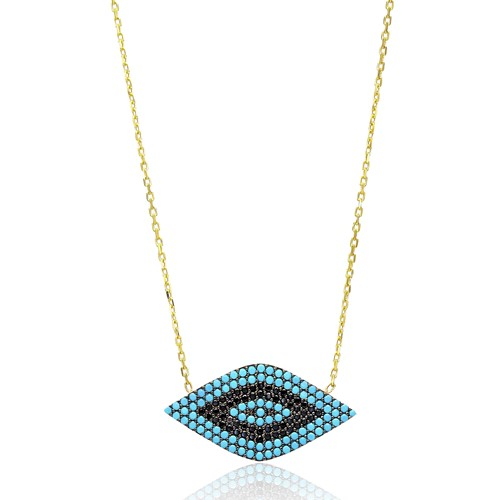 Evil Eye Turkish Wholesale Sterling Silver Pendant