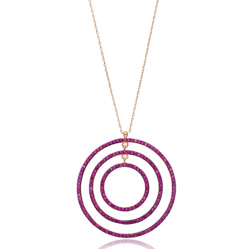 Open Circle Pendant In Turkish Wholesale 925 Sterling Silver