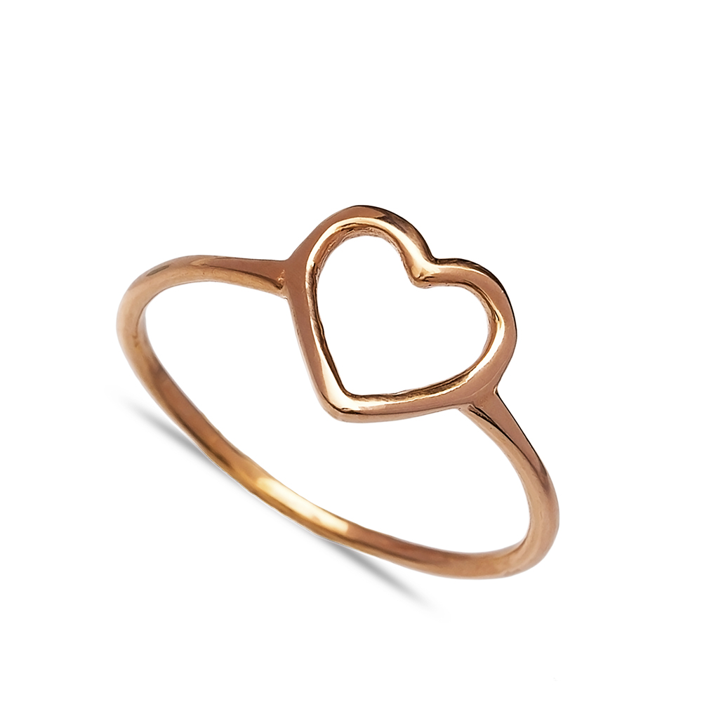 Heart Design Wholesale Handcrafted Silver Ring