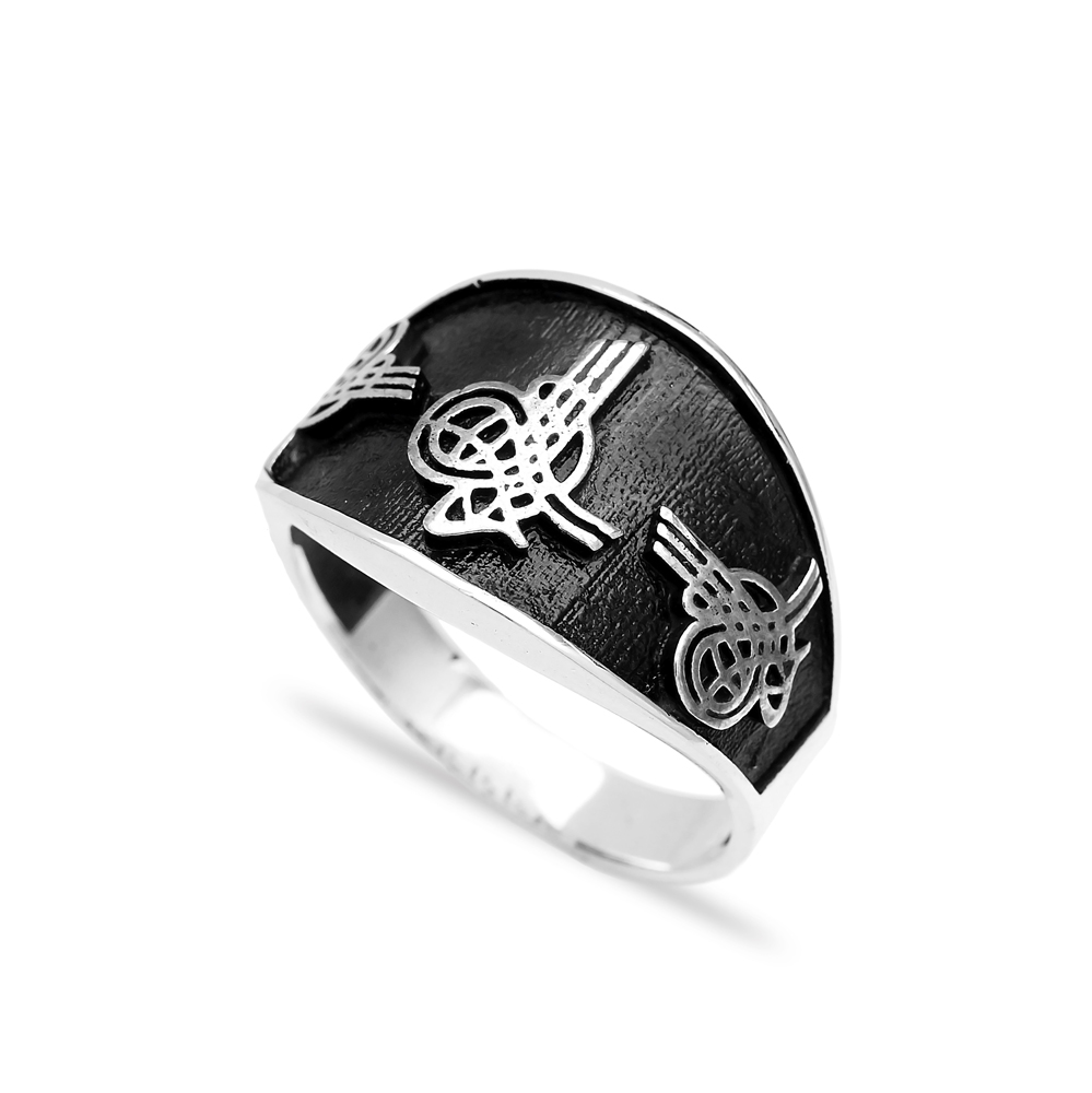 Authentic Men Ring Wholesale Handmade 925 Sterling Silver