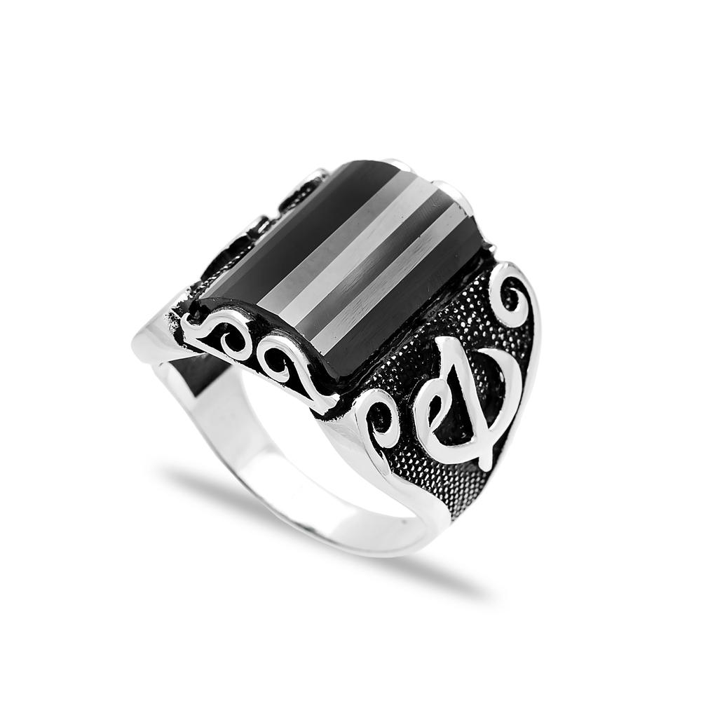 Turkish Design Men Ring Wholesale Handmade 925 Sterling Silver Men Ring