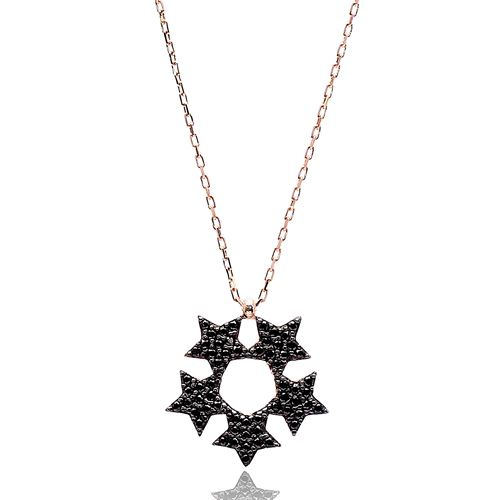 Five Star Pendant Turkish Wholesale Handmade 925 Sterling Silver