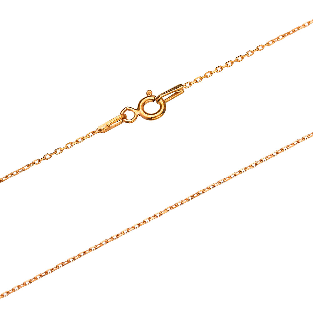 30 Micron Forzentina Rose Gold Platede Chain Silver Necklace