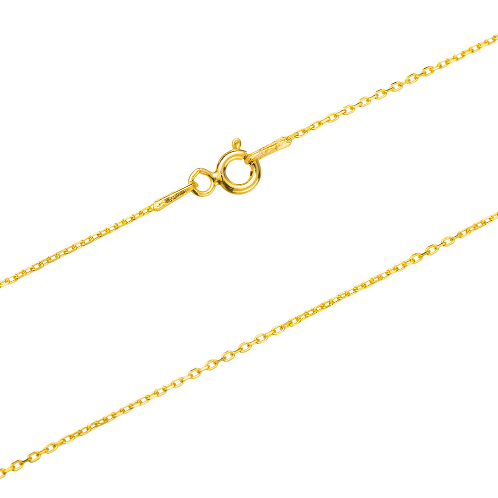 30 Micron Forzentina Gold Plated Chain Silver Necklace