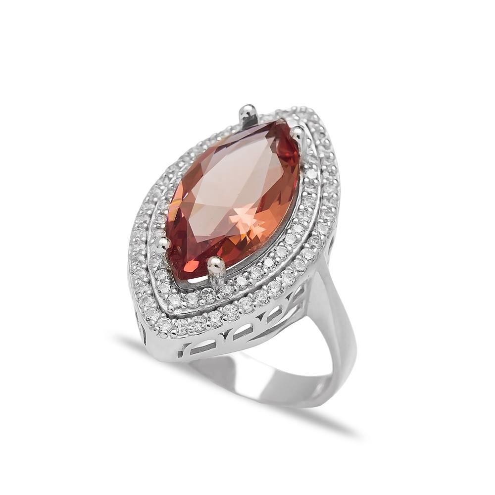 Diamond Cut Zultanite Stone Elegant Ring Turkish Wholesale Handmade 925 Sterling Silver Jewelry